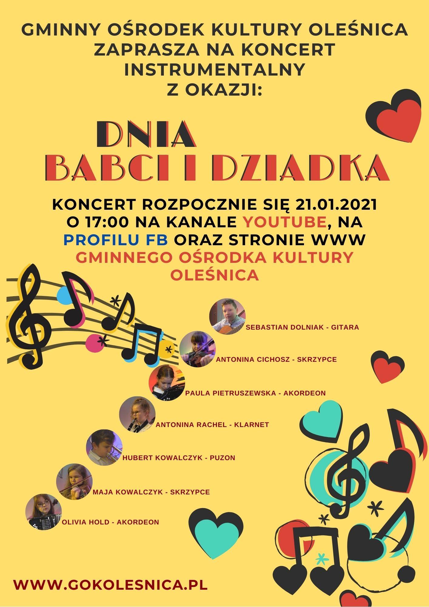 Koncert dla Babci i Dziadka