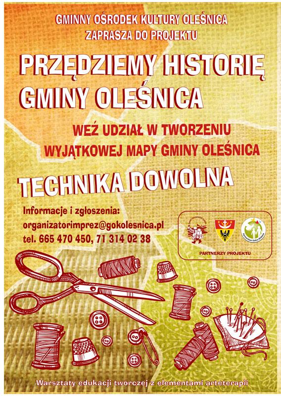 Przędziemy historię Gminy Oleśnica