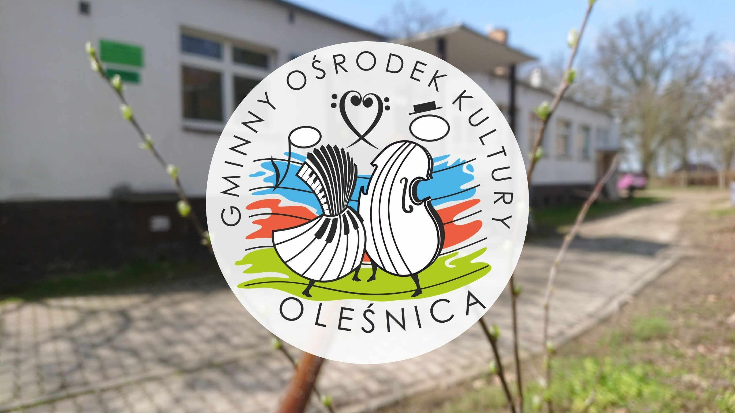 Nowe logo GOK Oleśnica